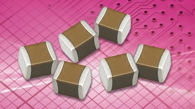 Gerade einmal 4,5 mm x 3,2 mm groß und 2,7 mm hoch sind die 470-µF-Keramikkondensatoren von Taiyo Yuden.