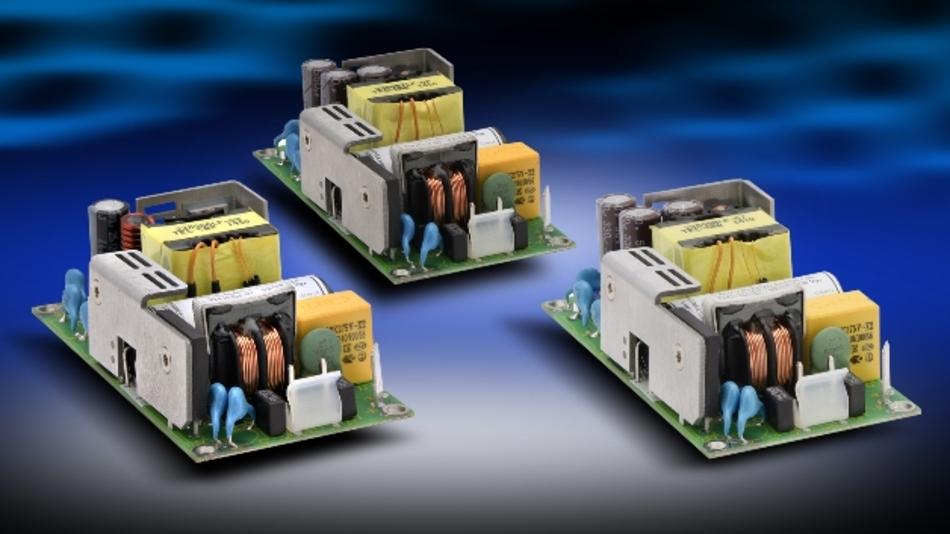 Das Medizin-Netzteil »ZMS100« bietet Ausgangsspannungen von 12 V, 15 V, 24 V, 36 V oder 48 V.