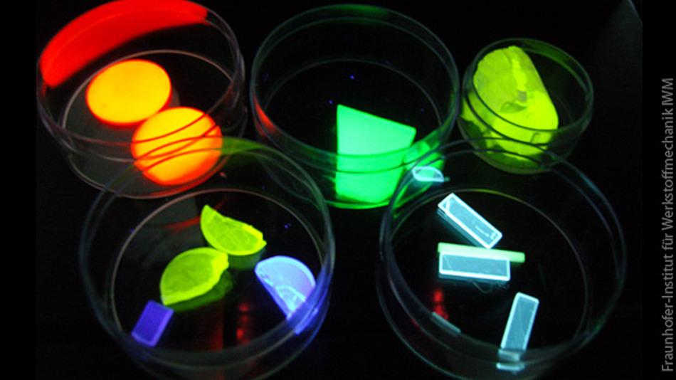 Mit Seltenerdmetallen dotierte Glaskeramiken für die up- und down-Konversion