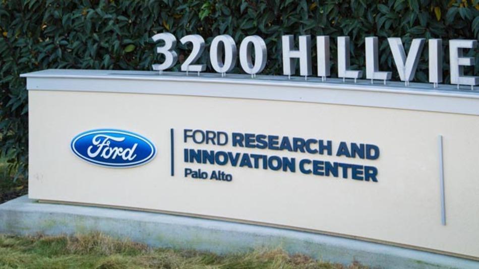 Forschungs- und Entwicklungszentrum von Ford in Palo Alto im Silicon Valley.