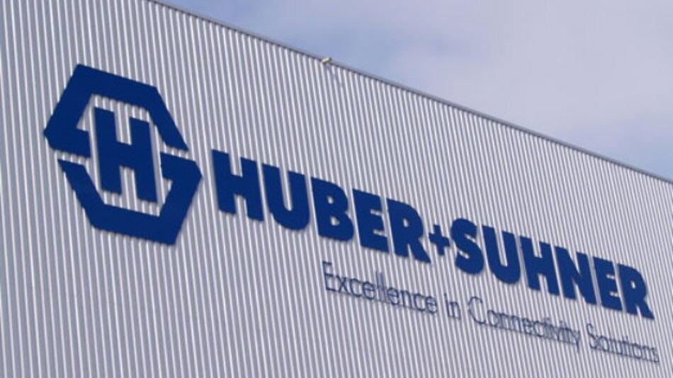 Huber + Suhner mit deutlicher Stegerung von Umsatz und Auftragseingang
