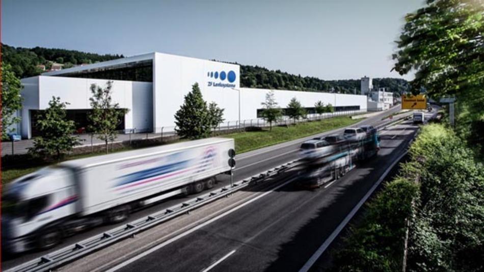 Bosch stärkt mit der Übernahme der ZF Lenksysteme GmbH (ZFLS) seine Position für eine aktive Gestaltung der Zukunft der Mobilität. Im Bild: ZFLS-Werk in Schwäbisch Gmünd, Deutschland.
