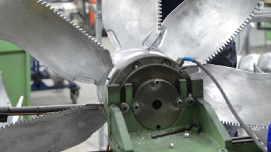 Im Werk von Ziehl-Abegg in Bieringen entstehen energiesparende Ventilatoren für den Weltmarkt.