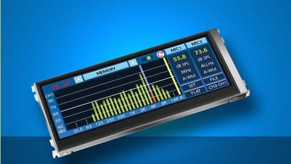 Mit 70.000 h spezifiziert ist das LED-Backlight von Batrons 6,3-Zoll-FTF-Display mit einer Auflösung von 800 x 280 Pixel.