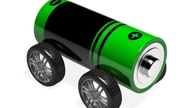 Damit Elektrofahrzeuge eine hohe Reichweite erzielen, sind leistungsstarke Batterien von Nöten.