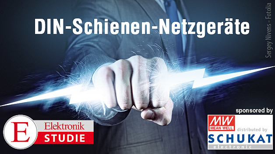 Elektronik-Studie DIN-Schienen-Netzgeräte - Mitmachen und tolle Preise gewinnen!