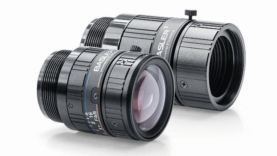Die »Basler Lenses« wurden in Zusammenarbeit mit Fujinon entwickelt.