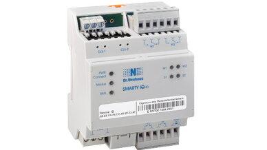 Die intelligente Schaltbox SMARTY iQ-IO erlaubt Energieversorgern neben dem Erfassen das Steuern von Energieverbräuchen.