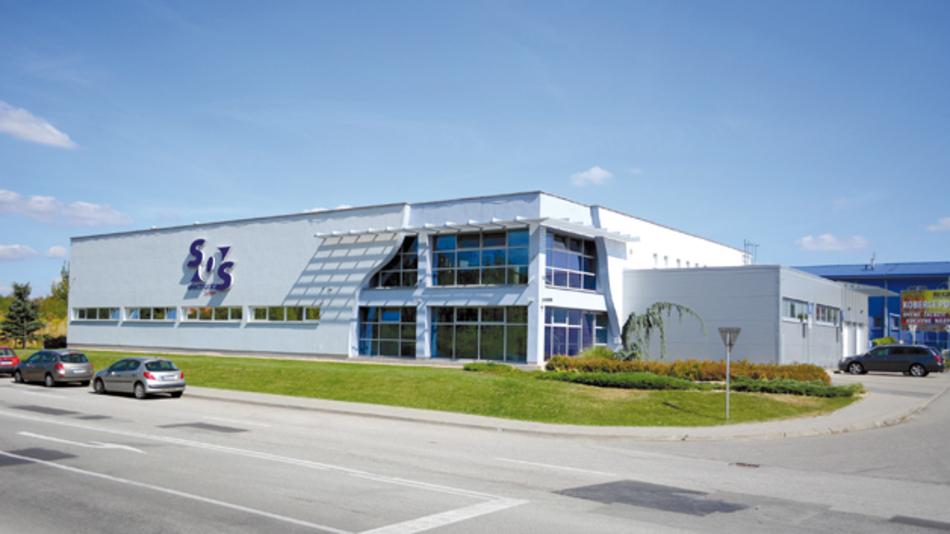 Das Headquarter von SOS electronic in der Slowakei