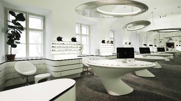 Einsatz von LED-Bändern im Shop-Bereich