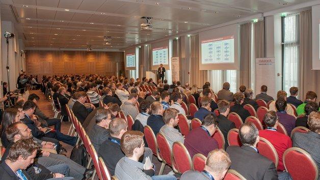 Volles Haus: Der Vortragsraum beim Automotive Ethernet Congress am 4. und 5. Februar in München war bis auf den letzten Platz gefüllt.