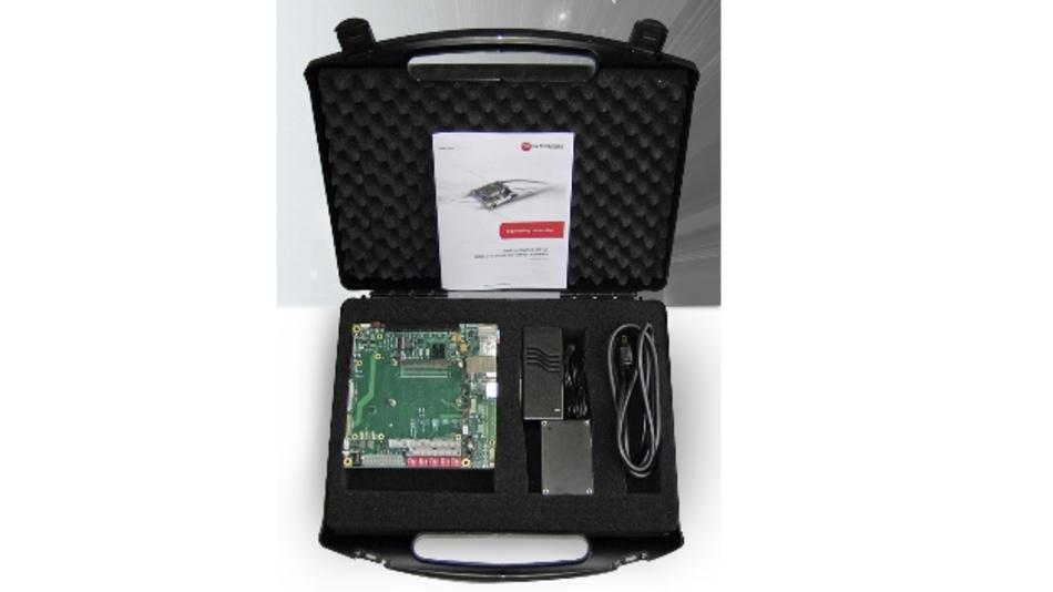 Das Starterkit basiert auf dem universellen Trägerboard »MSC C10-MB-EV«, das durch sein Mini-ITX-Format den Vorteil mit sich bringt, dass es sich bei Bedarf in ein Standardgehäuse verbauen lässt.