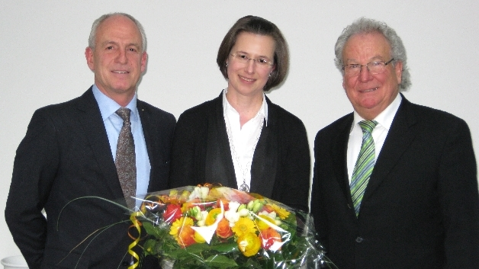 Ursula Hansjosten (Mitte) wurde in die Geschäftsführung berufen.
