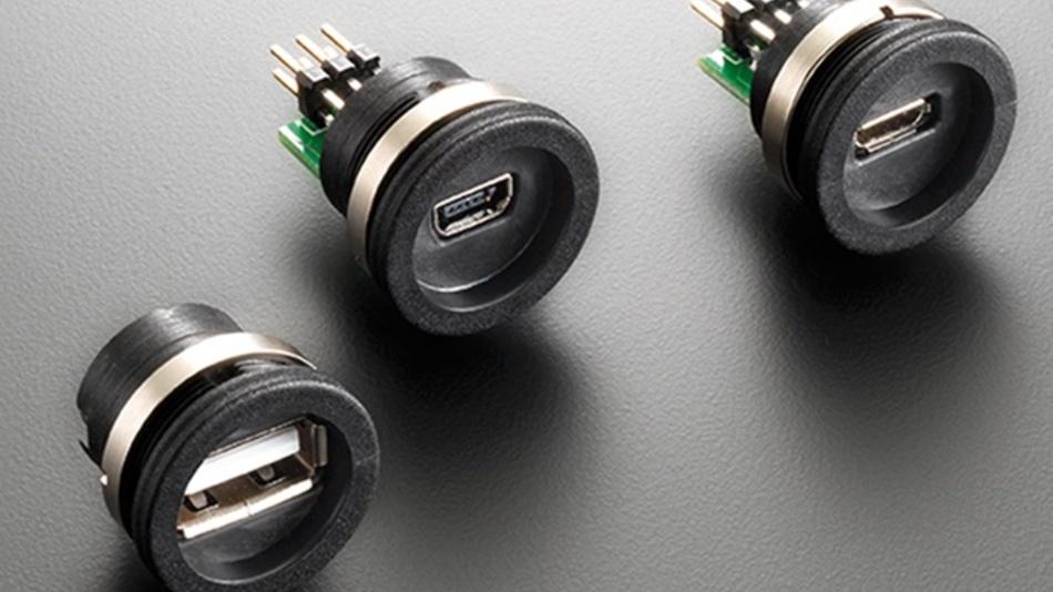 USB im M16-Gehäuse