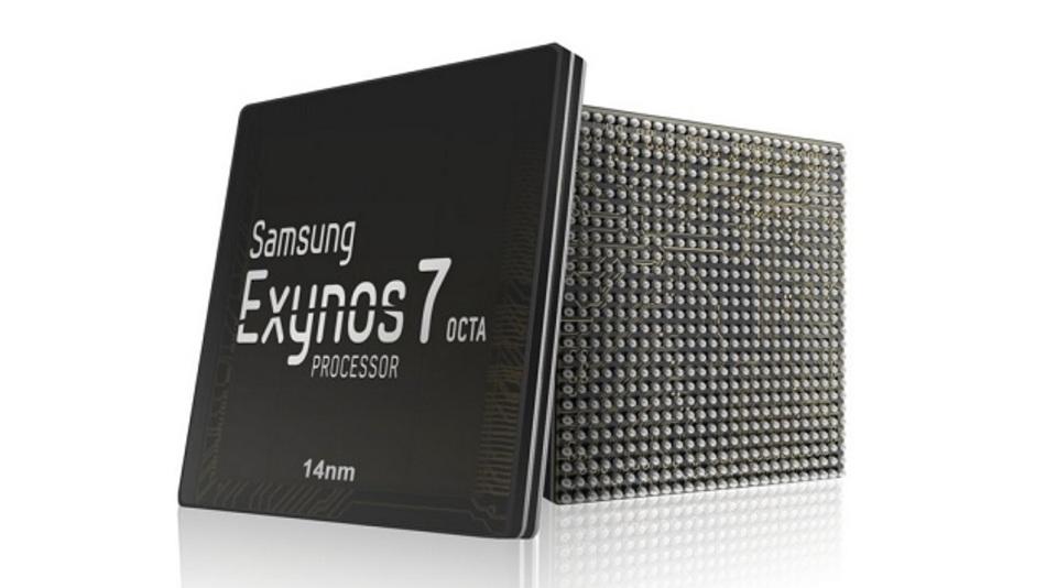 Der Exynos 7420 Octa ist der erste 14-nm-FinFET-Prozessor auf dem Markt.