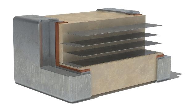 Das Material, das in diesen Kondensatoren verwendet wird, verhindert zum Beispiel piezoelektrische Störungen.