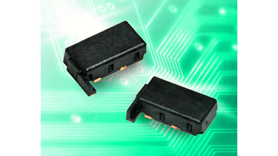 Der HCRTP-Baustein ist in einem flachen SMD-Gehäuse (max. 3,7mm Bauhöhe) erhältlich.