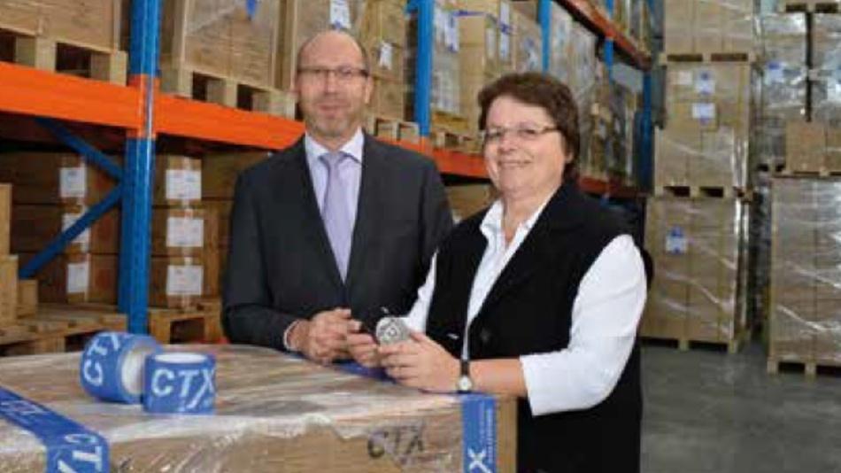 CTX-Geschäftsführer Wilfried Schmitz und Verkaufsleiterin Christa Terporten (Foto: Renate Schildheuer)