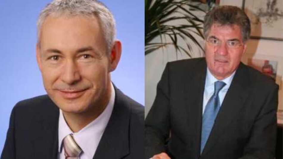 Die beiden neuen Clustersprecher des Clusters Sensorik (von links): Prof. Dr. Christoph Kutter und Prof. Dr. Reinhard Höpfl