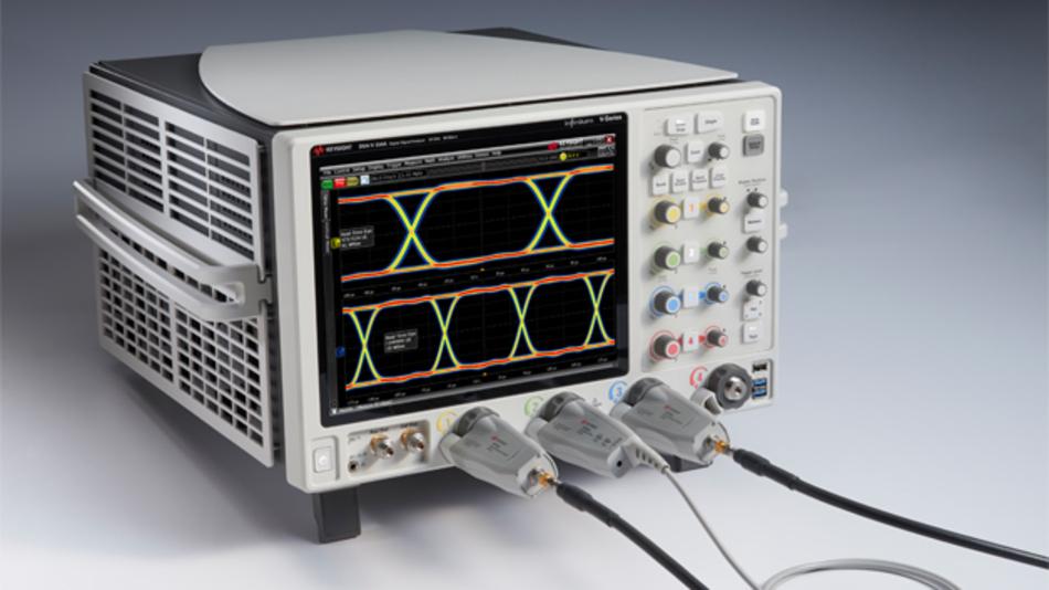 Die Geräte der neue Infiniium V-Serie von Keysight-Technologies sind mit Bandbreiten von 8 GHz bis 33 GHz erhältlich.