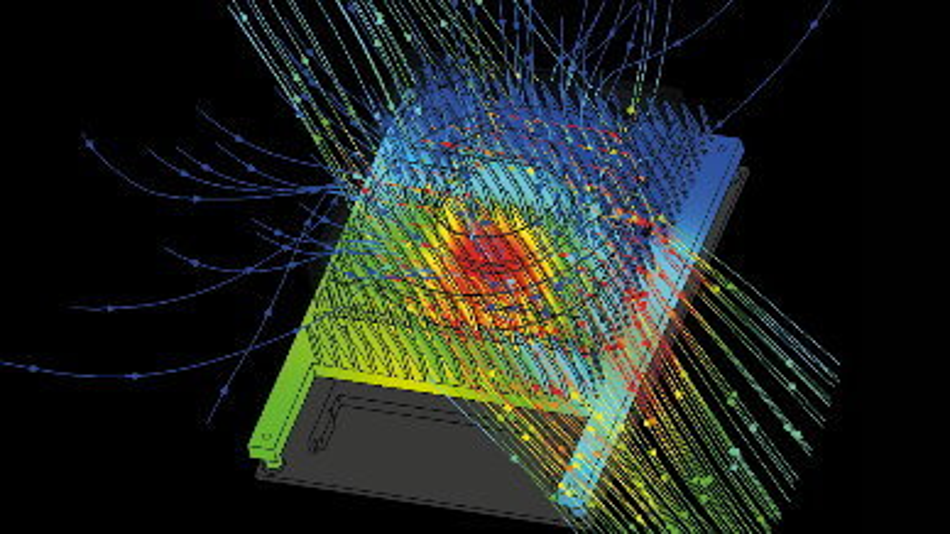 Hot-Spots, im Simulationsmodell rot dargestellt, kann man durch Simulation aufdecken.