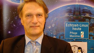 Standgespräch mit Dr. Carsten Emde, OSADL