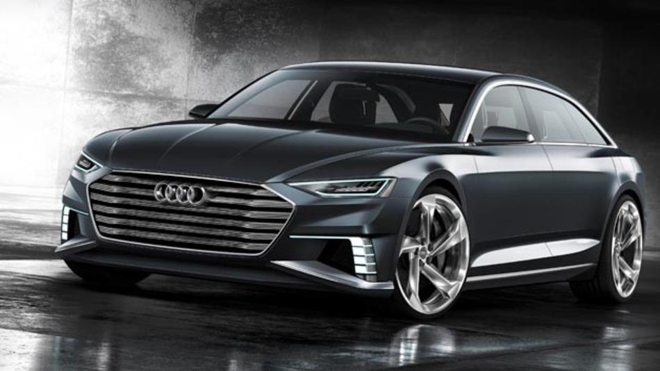 Vernetzt und induktiv ladbar: Die Studie Audi prologue Avant.