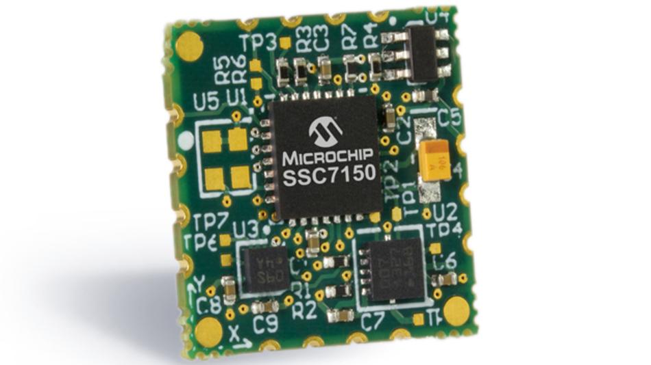 Das Bewegungsmodul MM7150 von Microchip kombiniert mehrere Sensoren mit einem Co-Prozessor.