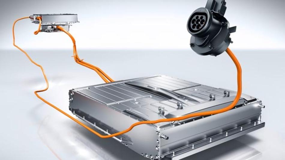 Lithium-Ionen Hochvolt-Batterie, Ladegerät, Fahrzeugsteckdose, B-Klasse Electric Drive (W242)