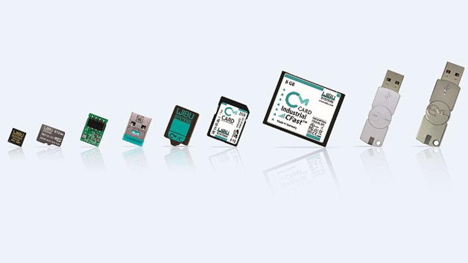 Die Schutz-Hardware »CmDongle« von Wibu-Systems erfüllt industrielle Anforderungen.