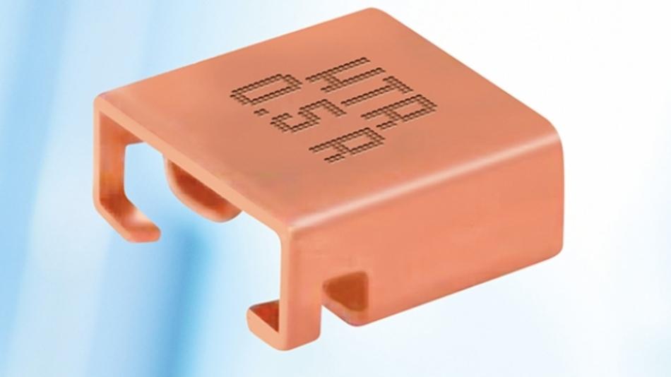 Die Leistungswiderstände der HBE-Serie sind sind mit Werten zwischen 0,5 mΩ und 5 mΩ lieferbar.