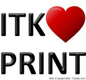 ITK liebt Print