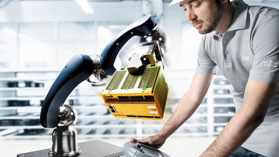 Die Effizienz von Roboterapplikationen steigt, je enger Mensch und Maschine zusammenarbeiten können. Gleichzeitig stellt dies aber auch höhere Anforderungen an die Sicherheit.