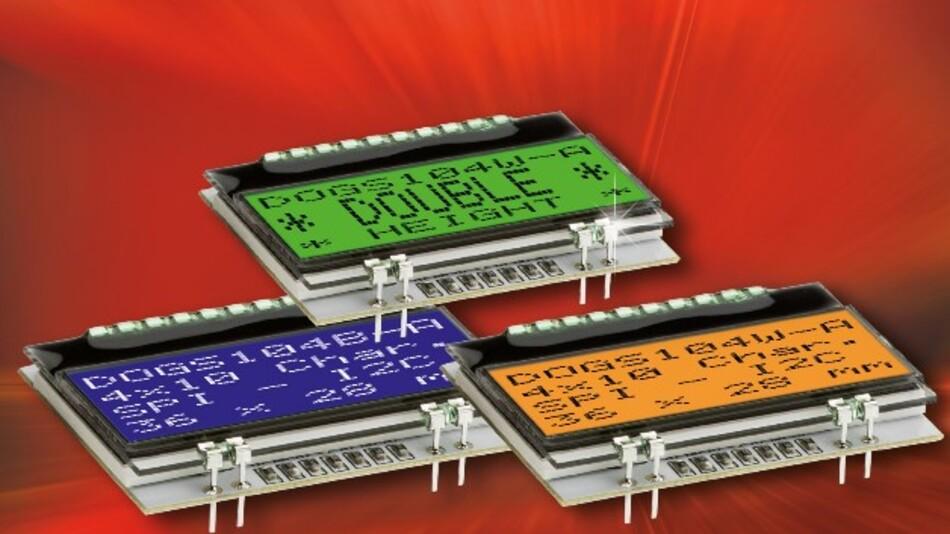 Kompakt und energieeffizient ist Electronic Assemblys Display EA DOGS104-A, bei dem Anzeige- und Beleuchtugnsfunktion getrennt sind.
