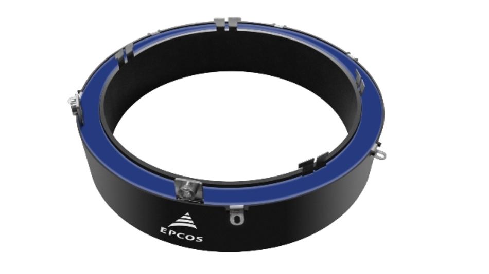 Der »RingCap« ist für Nennspannungen zwischen 100 V und 900 V ausgelegt und bietet Kapazitätswerte von 100 µF bis 2000 µF.