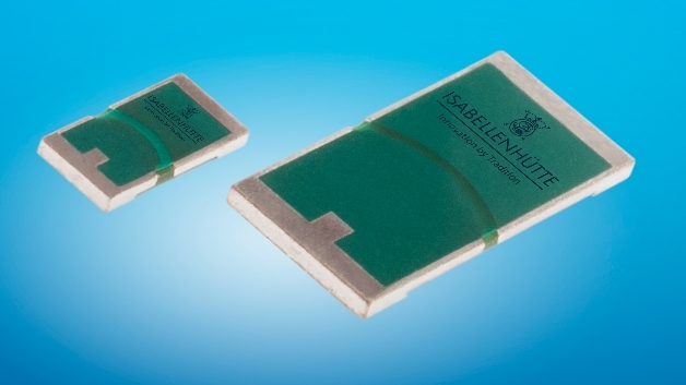 Der Temperaturkoeffizient für die »CMx«-Baureihe liegt unter 75 ppm/K