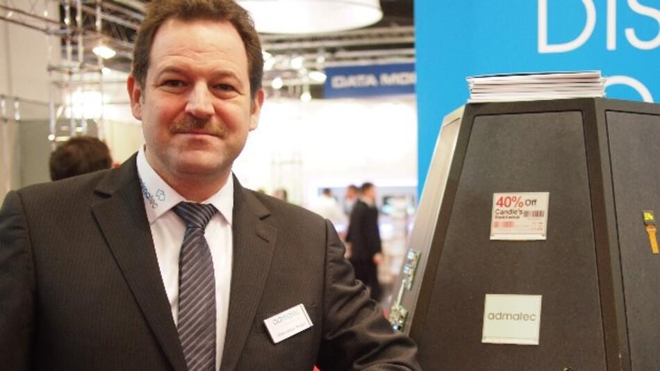 Thorsten Braun, admatec: »Mit Original-E-Ink sieht E-Paper aus wie Papier.«