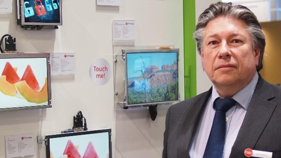 Roland Federle, MSC Technologies: »Embedded DisplayPort steckt zweifellos noch in den Kinderschuhen, aber das kann in einem Jahr schon ganz anders aussehen.«