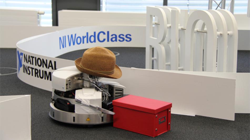 Dieser Roboter entstand bei der NI WorldClass 2014.