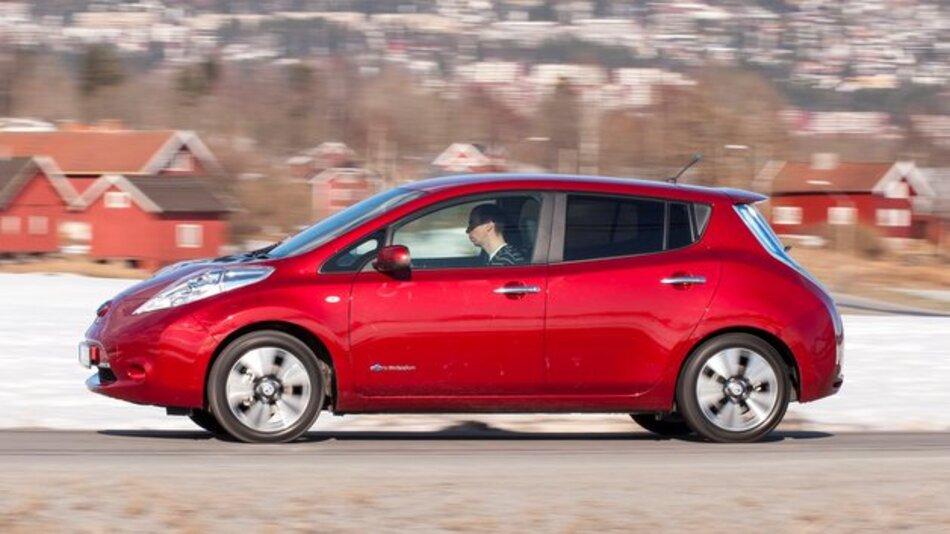 Der Nissan Leaf ist seit dem Modelljahr 2013 für bidirektionales Laden geeignet.