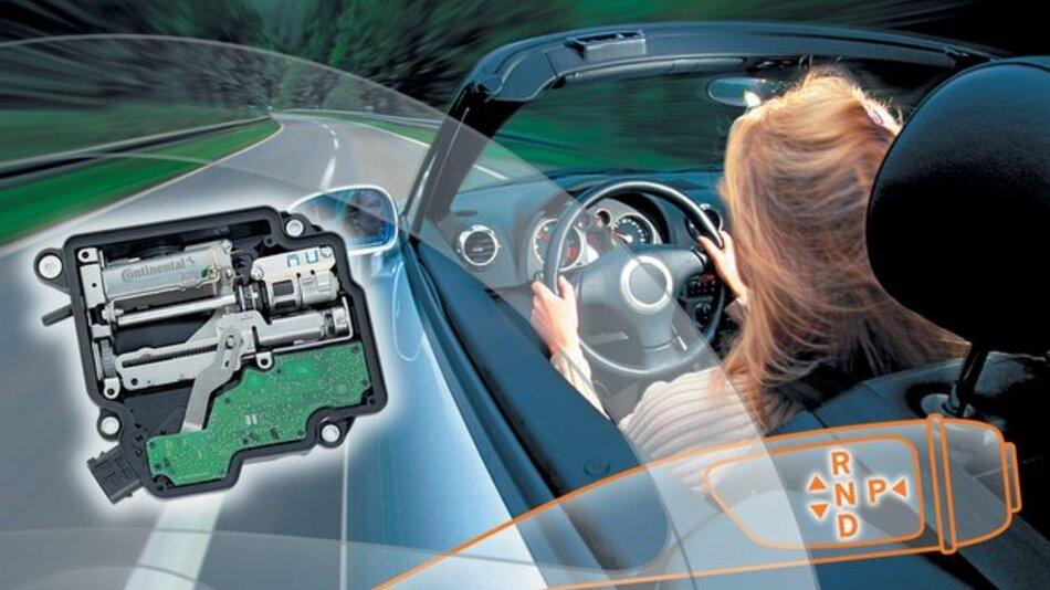 Bei mit DSM ausgerüsteten Fahrzeugen fehlt der klassische Gang-Wählhebel in der Mittelkonsole.