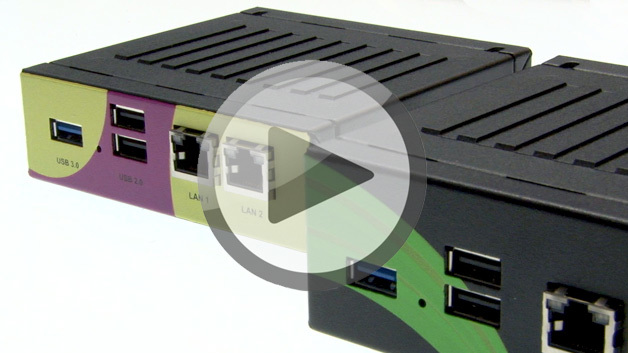 Die ersten Embedded NUC Computer, vorgestellt auf der embedded world 2015