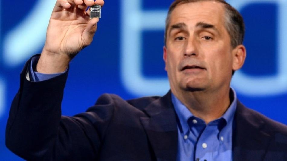 Platz 3: Brian Krzanich (Intel)