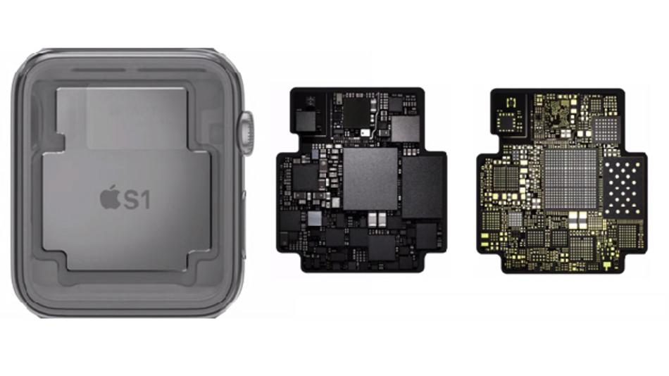 Apples S1 ist kein SoC, sondern ein Modul mit mehreren Chips auf einem Mini-PCB.