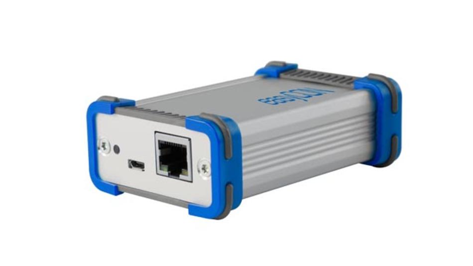 Medienkonverter EasyCon von Göpel electronic für Automotive Ethernet.