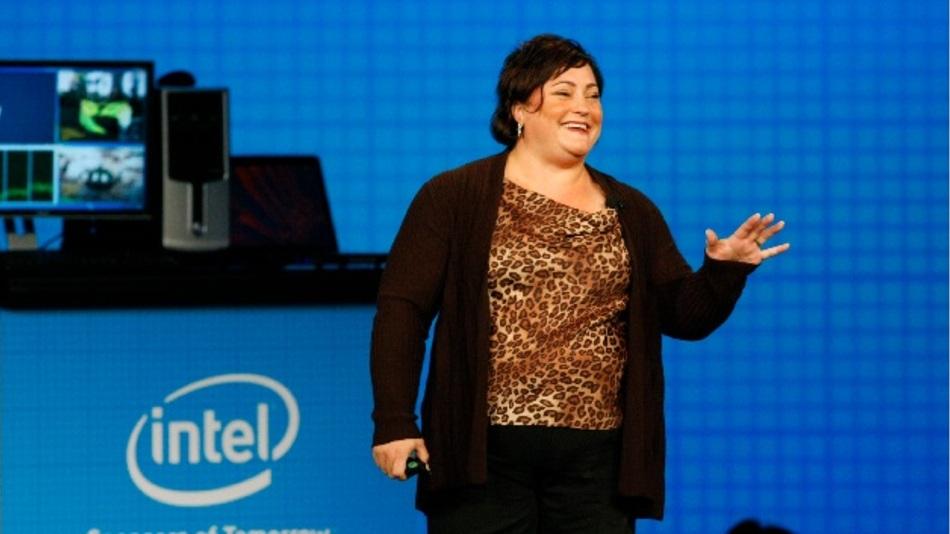 Intels President Renee J. James verdiente 2014 nur 8.029.700 Dollar - rund ein Viertel von Qualcomms Amtskollege Aberle.