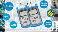 Die KE8x00-Familie zur simplen und schnellen Dämpfungsmessung bei Lichtwellenleitern