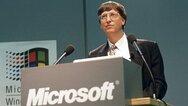 Bill Gates auf der CeBIT 1995
