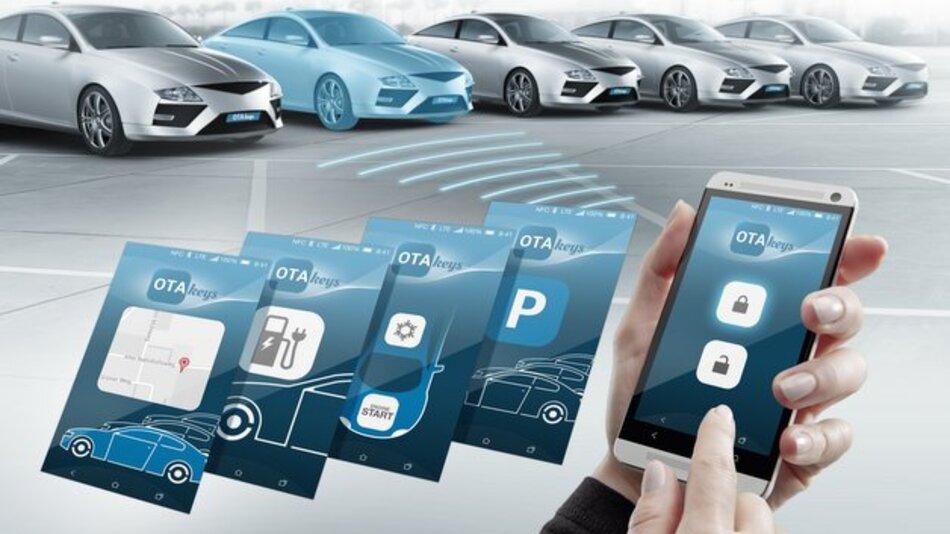 OTA keys entwickelt und vertreibt u.a. Fahrzeug-Schlüssel, die drahtlos über das Mobiltelefon übertragen und genutzt werden.
