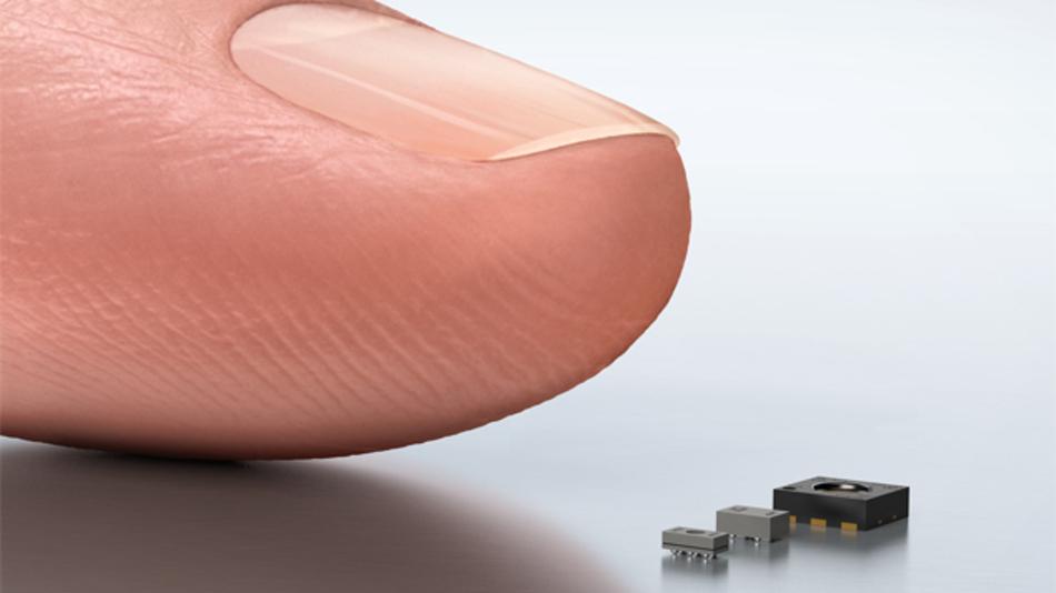 Sensirion erweitert ihren »Complete Solutions«-Ansatz für Wearables, Smartphones, Tablets sowie das Internet der Dinge (IoT): Zu den bewährten Feuchte- und Temperatursensoren bietet Sensirion neu auch Gas- und Drucksensoren an. Der neue Gassensor ist weltweit der einzige mit Multipixel-Technologie, d.h. der Sensor nimmt die Umgebung anhand verschiedener Rezeptoren war. So kann sowohl der Gastyp wie auch die Gaskonzentration bestimmt werden. Mit seinen Abmessungen von 2,45 x 2,45 x 0,75 mm³ lässt sich der Multipixel-Gassensor überall integrieren. Dadurch können mobile Geräten beispielsweise die aktuelle Luftqualität messen oder den Alkoholgehalt in der Atemluft bestimmen. Gleichzeitig mit dem Gassensor stellt Sensirion ihren barometrischen Drucksensor vor, der Druckunterschiede von +/- 1 Pascal misst. Damit werden Höhendifferenzen von einzelnen Treppenstufen erkannt. Auch dieser Sensor überzeugt durch seine Grösse von nur 1,4 x 1,0 x 0,6 mm³. Der bereits der Öffentlichkeit vorgestellte Feuchte- und Temperatursensor SHTW1 ist nur 1,3 x 0,7 x 0,5 mm³ groß. Der Sensor ist nun ab April 2015 in hohen Stückzahlen bestellbar.